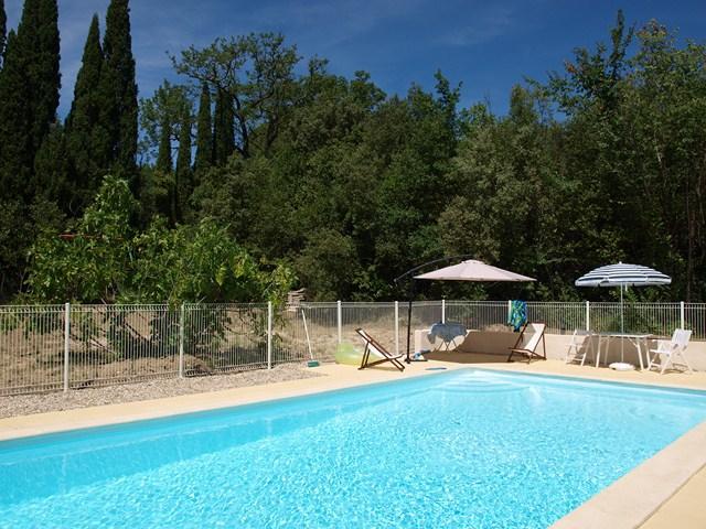 Montpellier Pool Mas Gite Self Catering South France Gard Herault